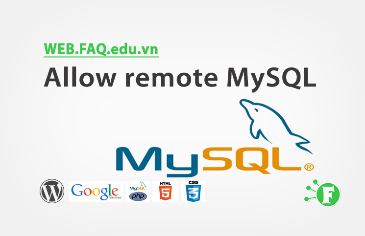 Allow remote MySQL