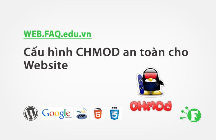 Cấu hình CHMOD an toàn cho Website