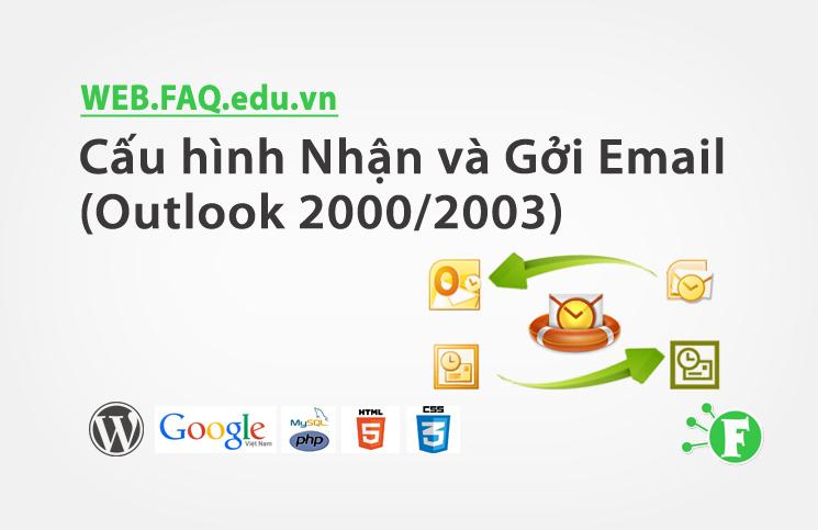 Cấu hình Nhận và Gởi Email (Outlook 2000/2003)