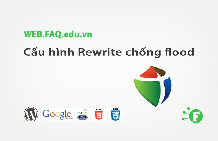 Cấu hình Rewrite chống flood