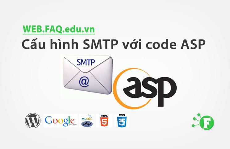 Cấu hình SMTP với code ASP