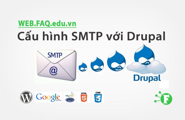 Cấu hình SMTP với Drupal