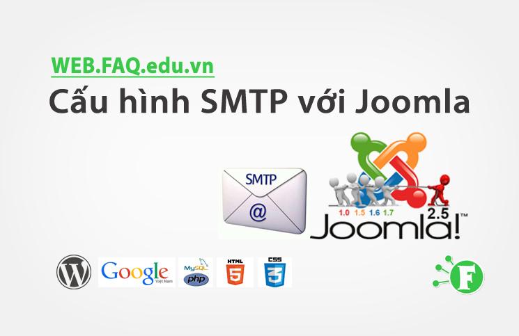 Cấu hình SMTP với Joomla