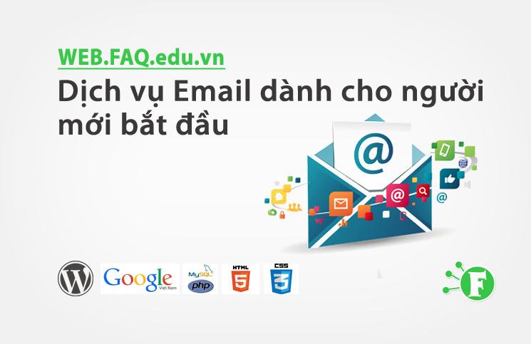 Dịch vụ Email dành cho người mới bắt đầu