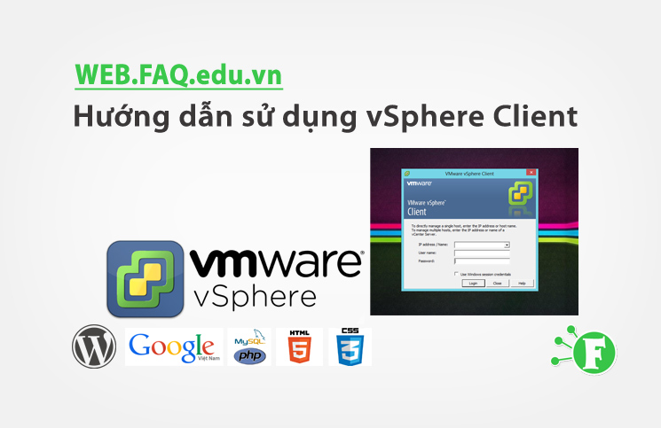 Hướng dẫn sử dụng vSphere Client