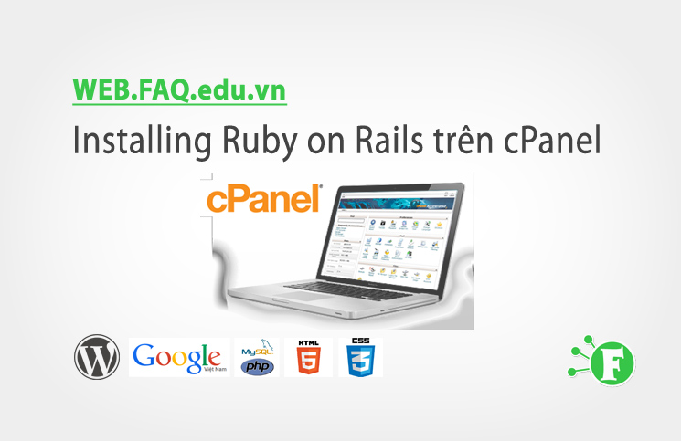 Installing Ruby on Rails trên cPanel