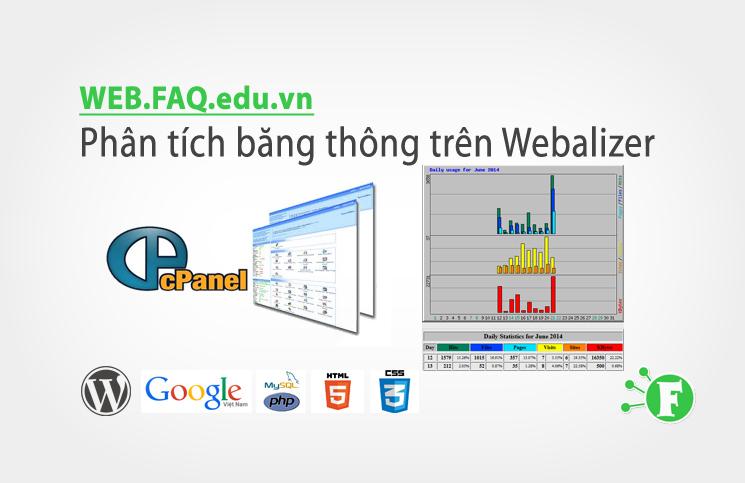 Phân tích băng thông trên Webalizer