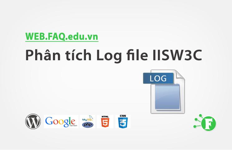 Phân tích Log file IISW3C