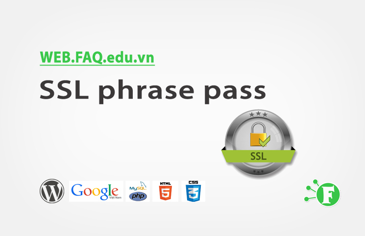 SSL phrase pass