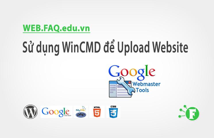 Sử dụng WinCMD để Upload Website